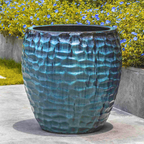 KOWLOON MEDITERRANEAN BLUE PLANTER