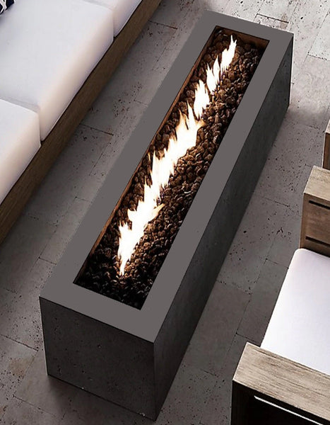 LINEAR CL STEEL FIRE PIT
