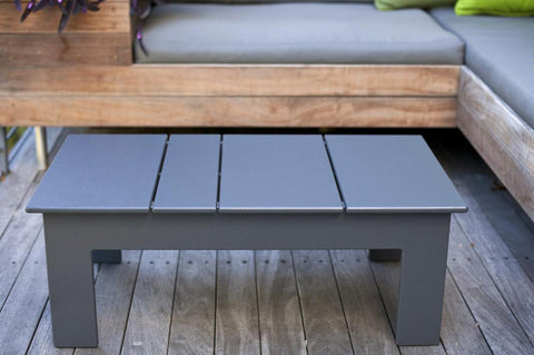 lollygagger outdoor coffee table by loll designs