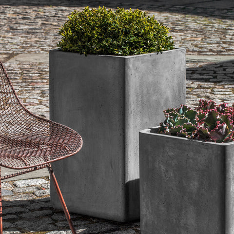 Tall Urban Cube Planter by Campania