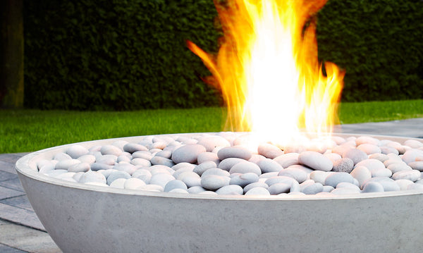 Miso Concrete Fire Bowl Denver Colorado Creative Living