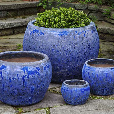 NAXOS ANGKOR BLUE PLANTER