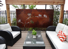 Outdoor Large Custom Metal Panel