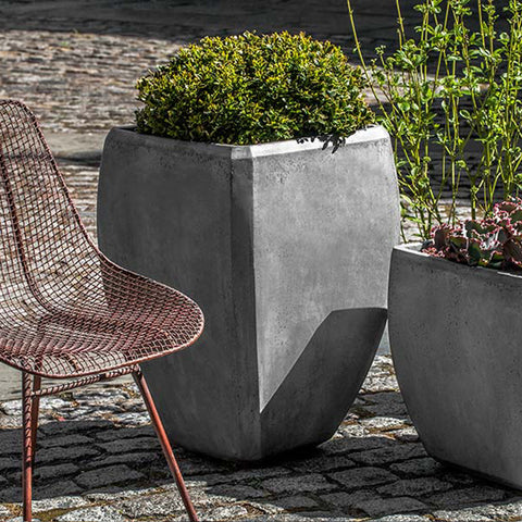 Tall Urban Bevel Planter