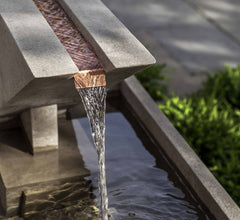 Modern Fountain - Outdoor Triad