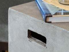 Outdoor Furniture - Urban Concrete Square End Table
