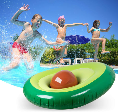 avocado pool float