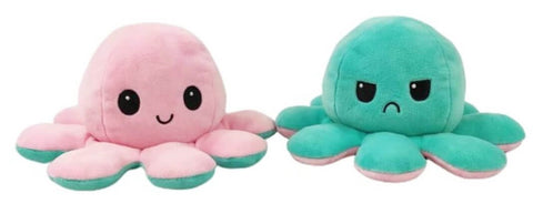 octopus plushies are REVERSIBLE!