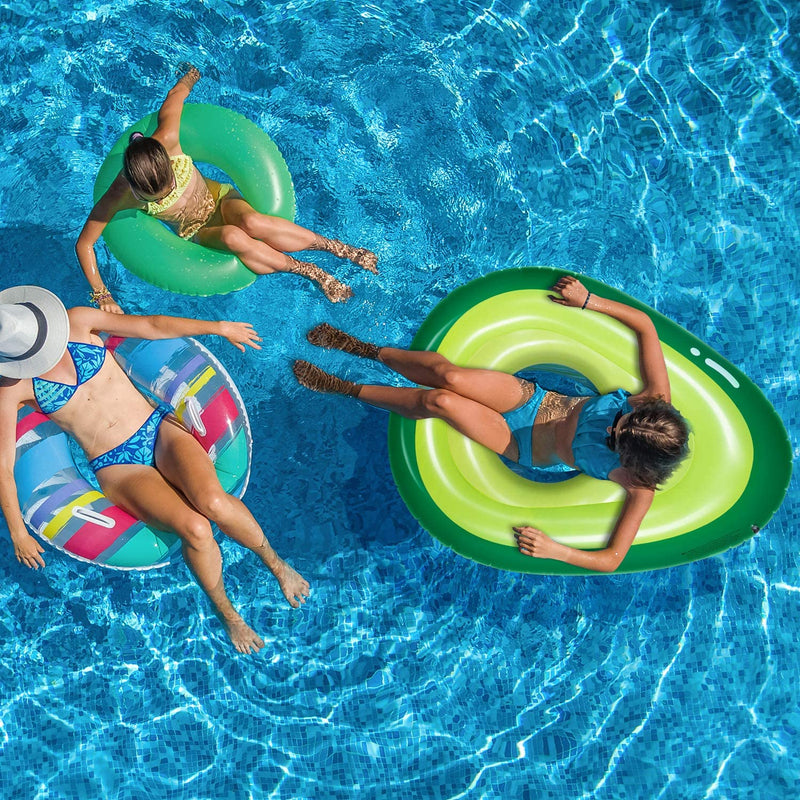 inflatable Avocado shaped Pool Float