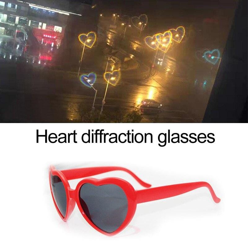 Heart refraction lenses