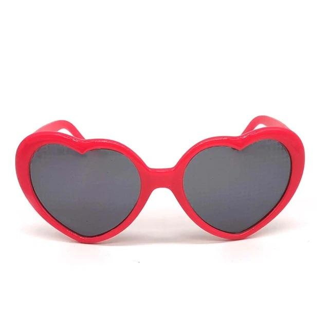 Vintage Heart Lenses Refraction Glasses - Bullskin