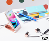 Candywirez wireless charger stand charing iphone on table