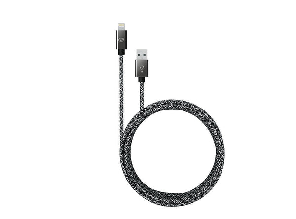 10ft Marbled Braided Lightning Cable