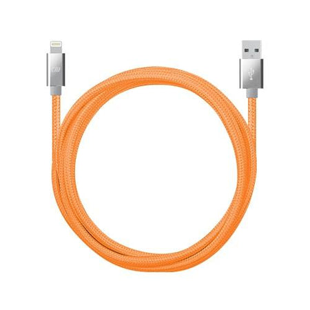 10ft Neon Marbled Braided Lightning Cable