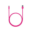 3ft Stainless Steel Lightning Cable - Matte Pink