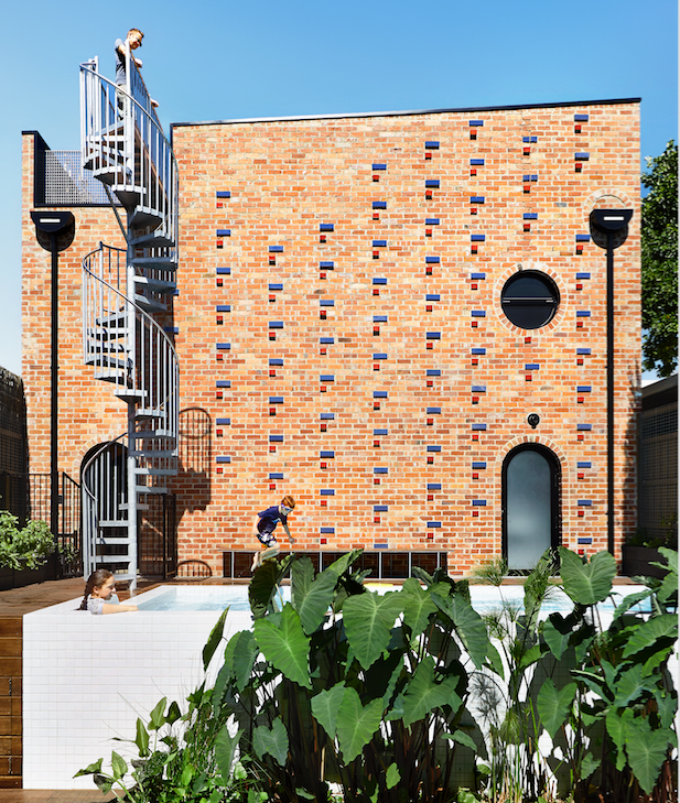 REAL HOME: Building brick by brick in Melbourne
