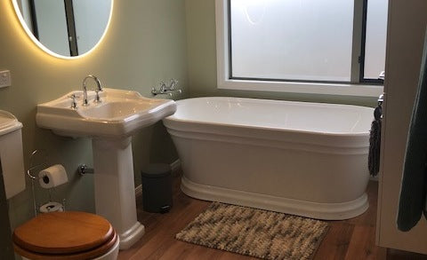 A fresh bathroom revamp in Queenstown