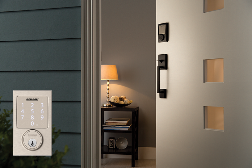Be in to win a Schlage Sense™ Smart Deadbolt
