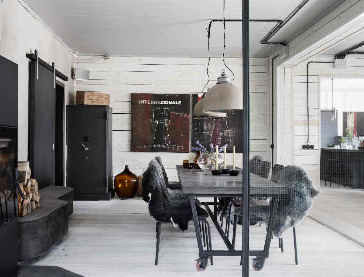 Diamond In The Rough | Swedish Industrial Chic – Renovate