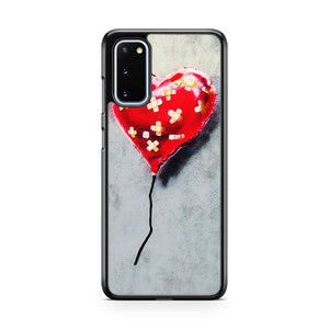 Banksy Street Art Heart Balloon Nyc Samsung Galaxy S20 Phone Case