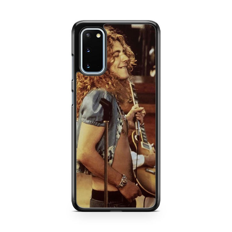 Led Zeplin Rock Band Robert Plant Samsung Galaxy S20 Phone Case