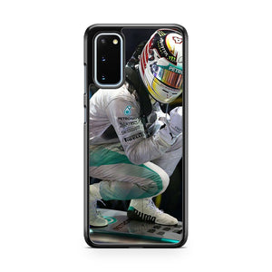 Lewis Hamilton Winning Samsung Galaxy S20 Phone Case