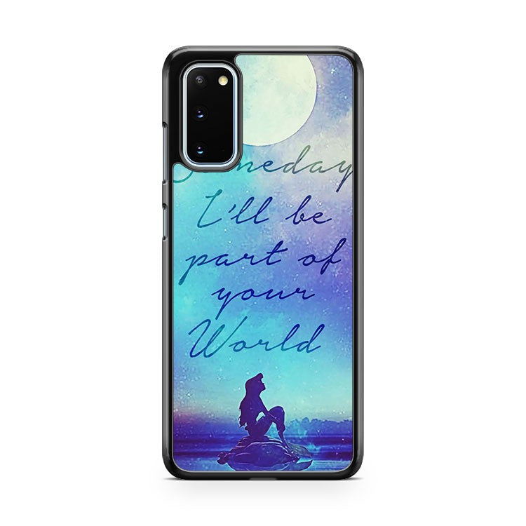 Little Mermaid Moon Samsung Galaxy S20 Phone Case