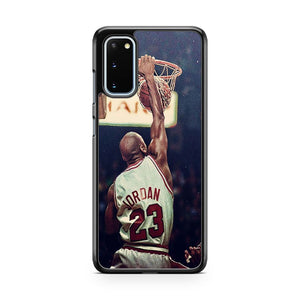 Michael Jordan Chicago Bulls NBA Samsung Galaxy S20 Phone Case