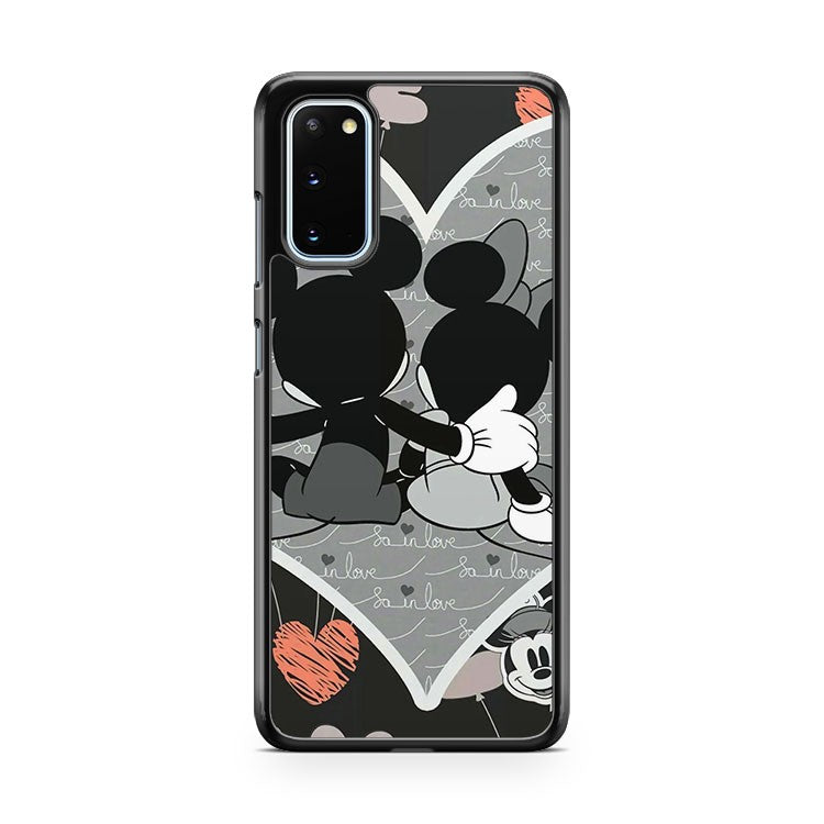Mickey And Minnie Love Samsung Galaxy S20 Phone Case