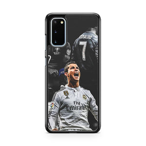 Real Madrid Cf Cristiano Ronaldo Cr7 Football Samsung Galaxy S20 Phone Case