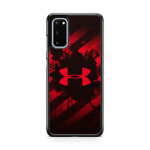 Red Under Armour Samsung Galaxy S20 Phone Case