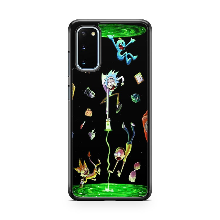 Rick And Morty Schwifty Wubba Lubba Adventure Samsung Galaxy S20 Phone Case