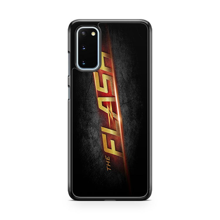 The Flash Leather Kick Stand Samsung Galaxy S20 Phone Case