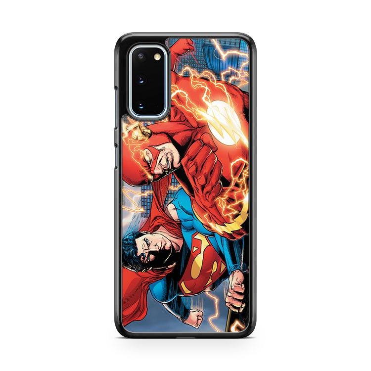 The Flash Superman Samsung Galaxy S20 Phone Case