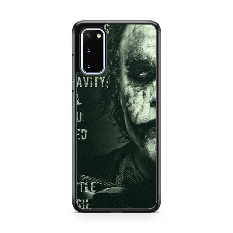 The Joker Madness Quote Samsung Galaxy S20 Phone Case