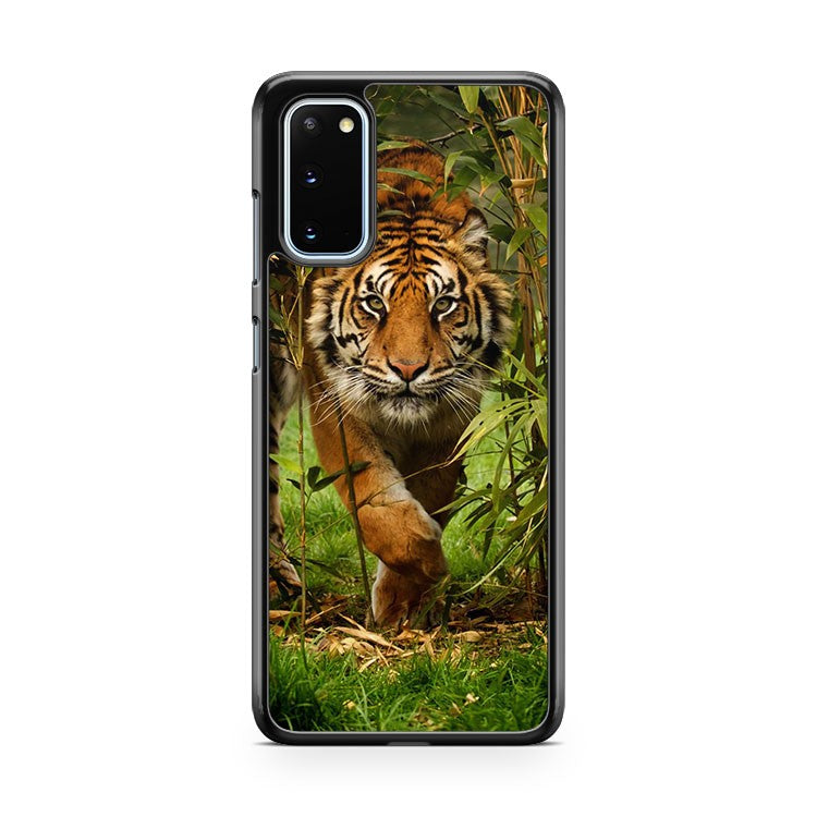 Tiger In The Jungle Samsung Galaxy S20 Phone Case