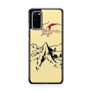 The Hobbit Lonely Mountain Light Samsung Galaxy S20 Phone Case