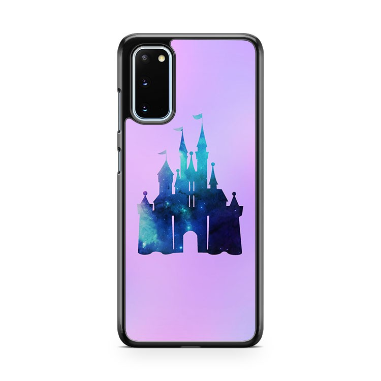 Disney Castle Watercolor Universe 2 Samsung Galaxy S20 Phone Case