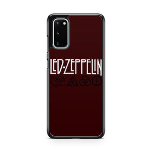 Led Zeppelin Zoso Logo Samsung Galaxy S20 Phone Case