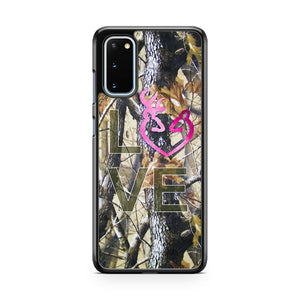 Love Browning Deer Camo 1 Samsung Galaxy S20 Phone Case