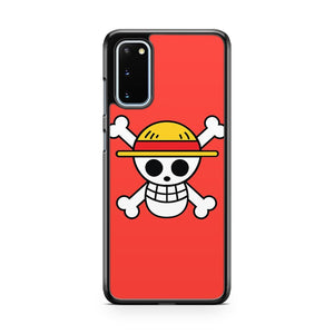 Luffy Pirate Flag Samsung Galaxy S20 Phone Case