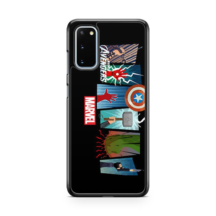 Marvel The Avengers Poster Samsung Galaxy S20 Phone Case