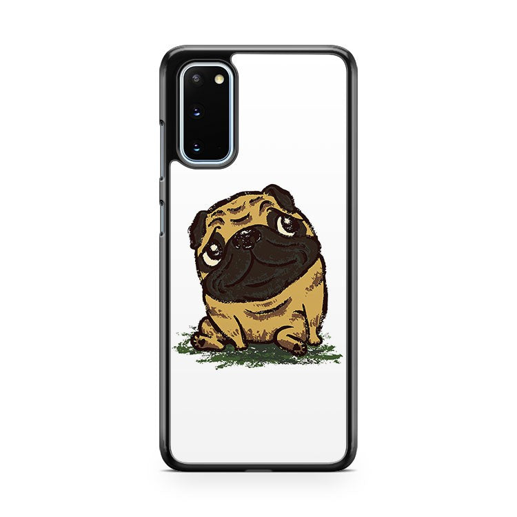 Pug That Relaxes Samsung Galaxy S20 Phone Case