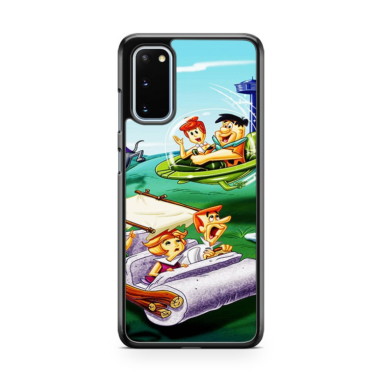 The Jetsons Family Flight Samsung Galaxy S20 Phone Case