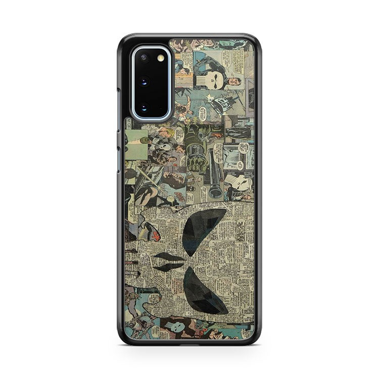The Punisher Skull Comic Collage Art 2 Samsung Galaxy S20 Phone Case