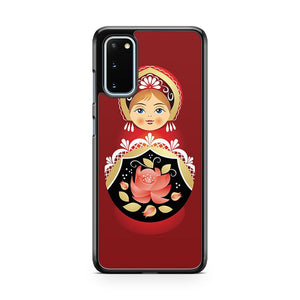 Babushka Matryoshka Russian Doll Samsung Galaxy S20 Phone Case