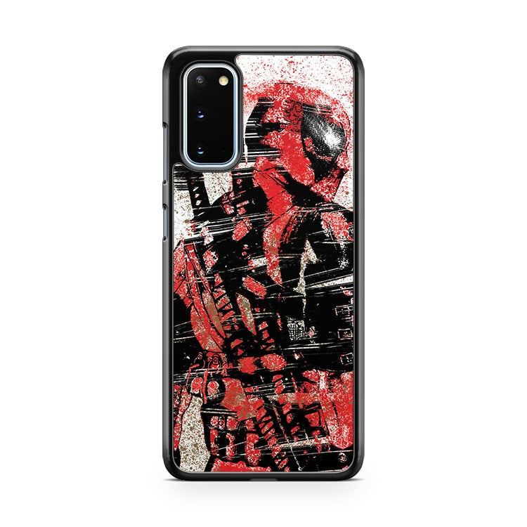 Deadpool Splat Colors Samsung Galaxy S20 Phone Case