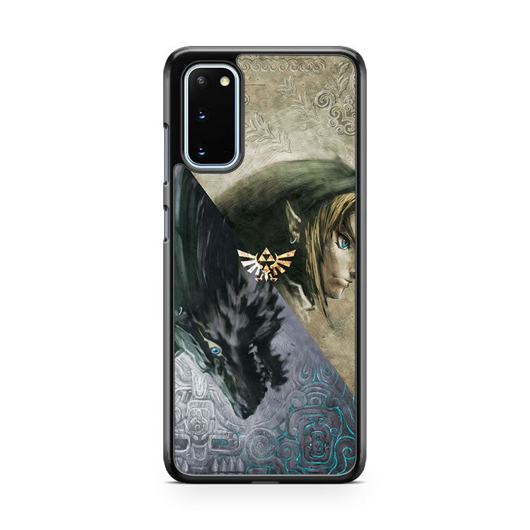 Legend Of Zelda And Wolf Samsung Galaxy S20 Phone Case