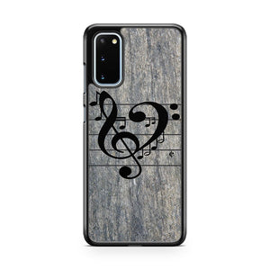 Love Music Samsung Galaxy S20 Phone Case