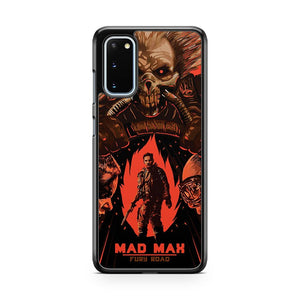 Mad Max The Road Warrior Custom Poster Samsung Galaxy S20 Phone Case